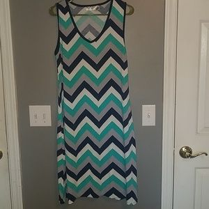 Sleveless dress, used condition,